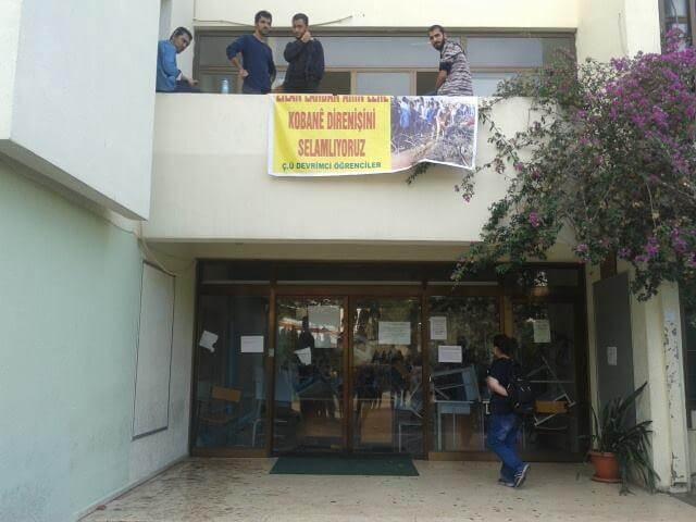 çukurova üniversitesi kobani eylemleri